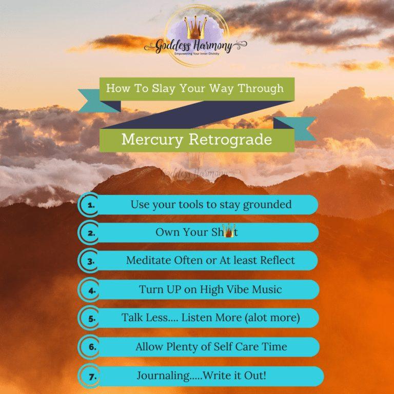 To conquering mercury Retrograde 2