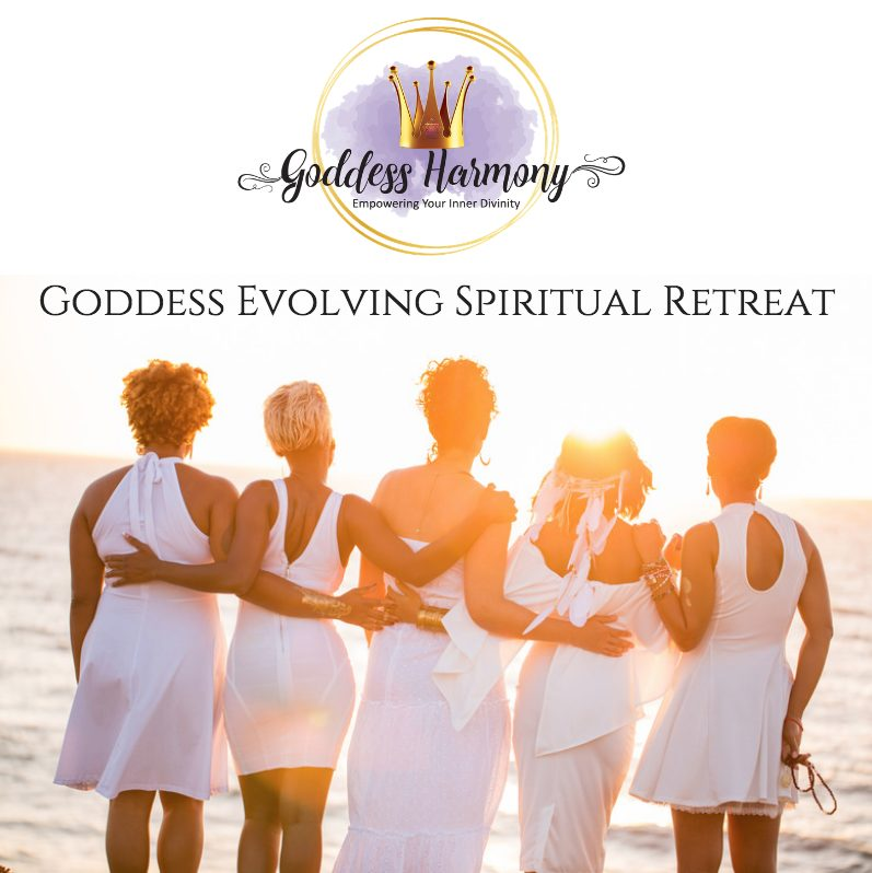 Goddess Evolving Spiritual Retreat Header