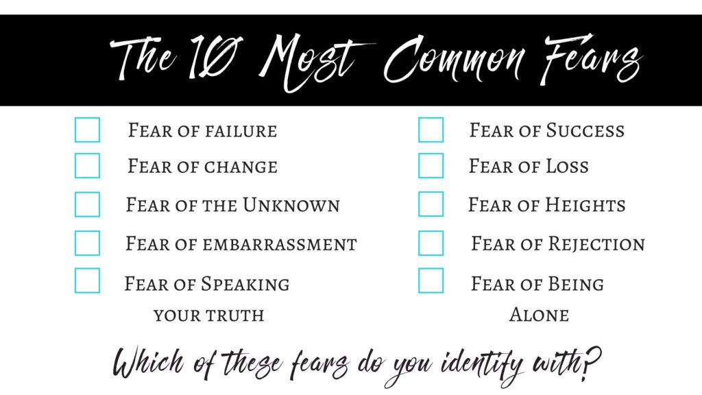 Fear sales page top 10