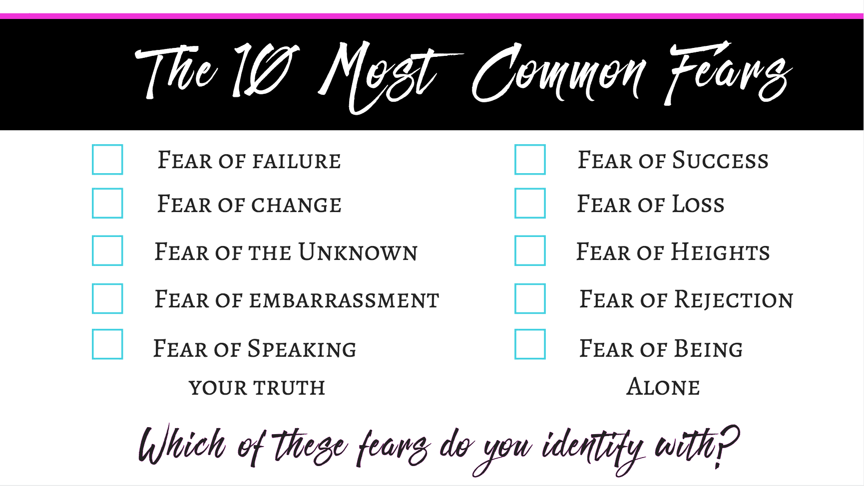 0 Common Fears