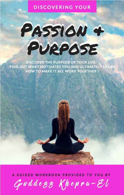 PASSION AND PURPOSE WORKBOOK COVER