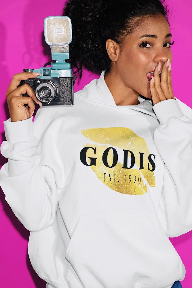 Godis apparel by Goddess Harmony Hoodie vibrancy