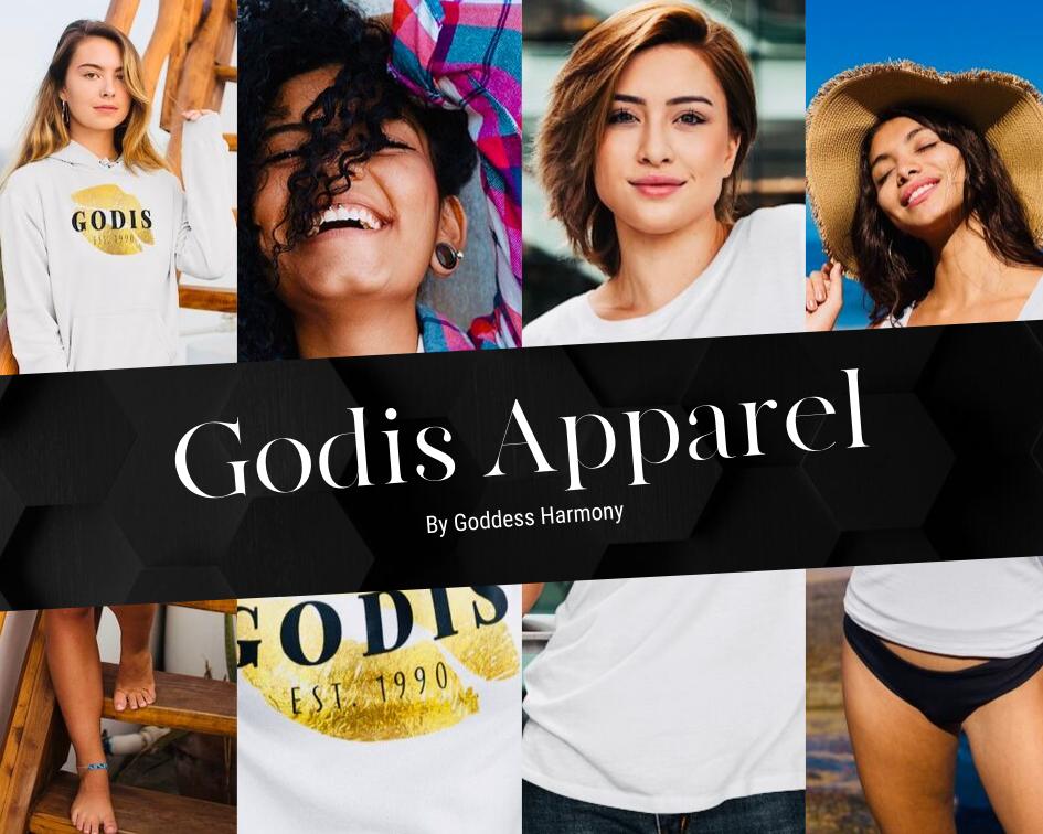 Godis Apparel by Goddess Harmony collage